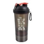 Greenbee Protein Shaker, Black 500 ml
