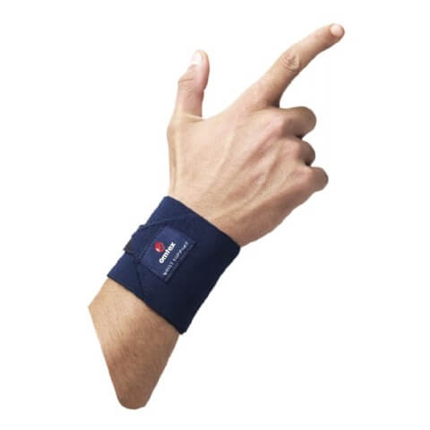 Omtex Wrist Support,  Navy Blue  Free