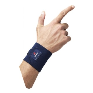 Omtex Wrist Support,  Navy Blue  Free Size
