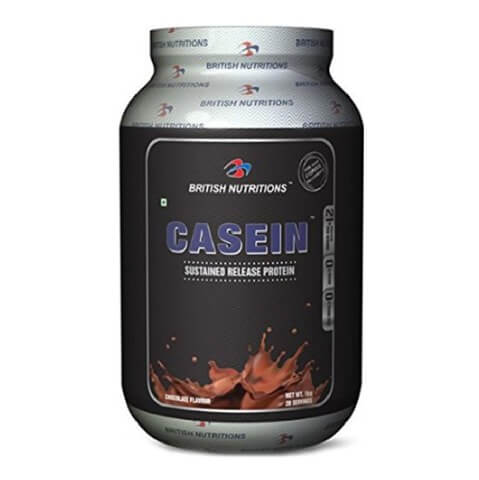 British Nutritions Casein,  2.2 lb  Chocolate
