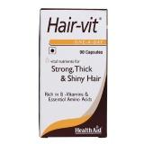 HealthAid Hair-Vit,  Unflavoured  90 Capsules