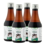 Bio Leafage Bizyme Digestive Enzyme Syrup 200 ml Pack of 4
