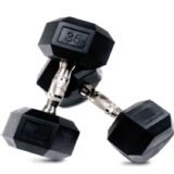 CRUZE Fitness Hexagon Dumbbells Imported,  Black  40 Kg Per Piece