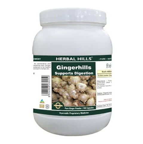 Herbal Hills Ginger Hills Value Pack,  700 capsules