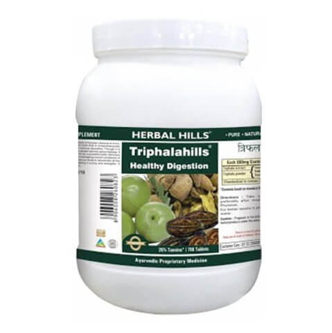 Herbal Hills Triphalahills Value Pack,  700 capsules