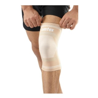 Omtex Superior Elastic Knee Support,  Beige  Small
