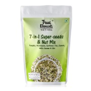 True Elements 7 In 1 Super Seed   Nut Mix, Natural 0.125 kg
