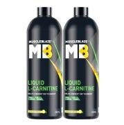 MuscleBlaze Liquid L Carnitine 450 ml Lemon Lime   Pack Of 2