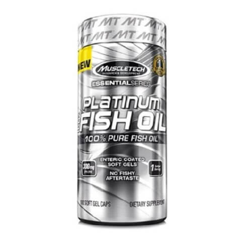 MuscleTech Platinum100% Fish Oil,  100 softgels
