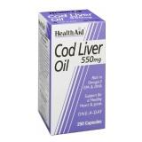 HealthAid Cod Liver Oil,  60 Capsules