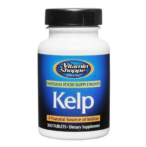 The Vitamin Shoppe Kelp,  300 tablet(s)
