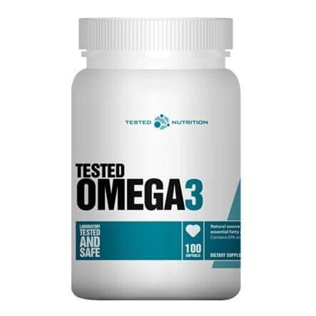 Tested Nutrition Omega-3,  100 softgels