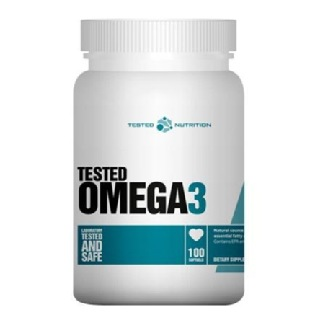 Tested Nutrition Omega-3,  100 softgels