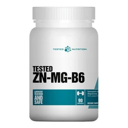 Tested Nutrition ZN-MG-B6,  Unflavoured  60 capsules