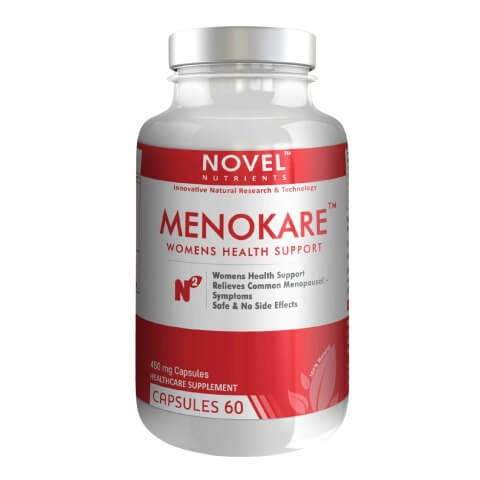 Novel Nutrients Menokare (450mg),  60 capsules
