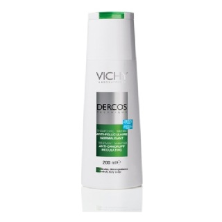 Vichy Dercos Treatment Shampoo (Normal to Oily),  200 ml  Anti Dandruff