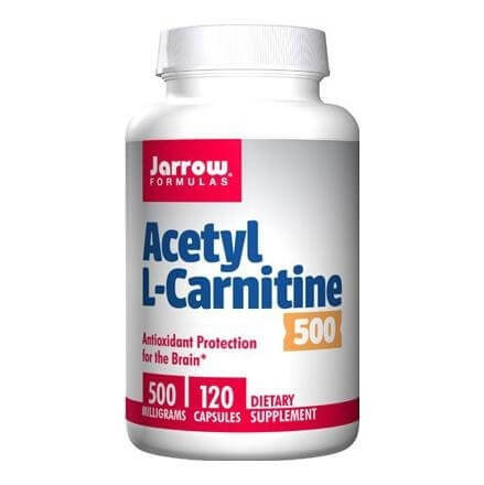 Jarrow Formulas Acetyl L-Carnitine (500mg),  120 capsules  Unflavoured