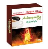 Herbal Hills Ashwagandha Plus Herbal Coffee,  100 G  Unflavoured