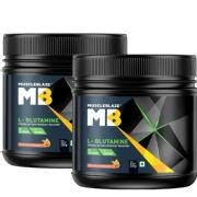 MuscleBlaze L Glutamine 0.55 lb Fruit Punch   Pack of 2