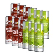 MuscleBlaze Sparkling Protein Water  10g Protein , 6 Piece s /Pack Refreshing Twin Flavour Pack   Pack Of 2