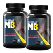 MuscleBlaze L Arginine, 90 capsules Unflavoured   Pack of 2