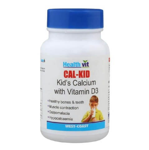 Healthvit Cal-Kid,  Unflavoured  60 tablet(s)