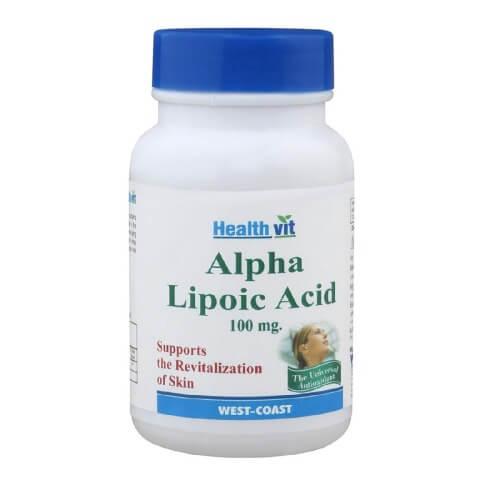 Healthvit Alpha Lipoic Acid,  60 tablet(s)