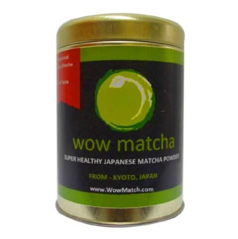 Wow Matcha Ceremonial Grade Matcha Powder,  100 g  Natural