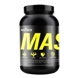 Nutech Nutritions Mass Gainer,  Vanilla  10 Lb