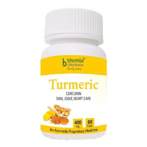 Bhumija Turmeric,  60 capsules