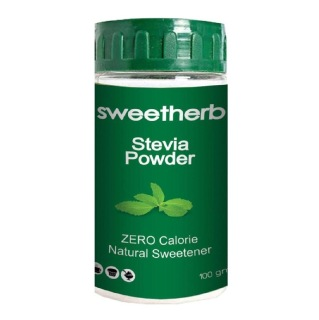 Sweetherb Stevia Sugarfree Powder,  100 g
