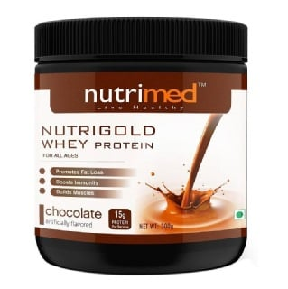 Nutrimed Nutrigold Whey Protein,  0.66 lb  Chocolate