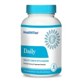 HealthViva Daily (Multivitamin with Ginseng),  Unflavoured  30 capsules