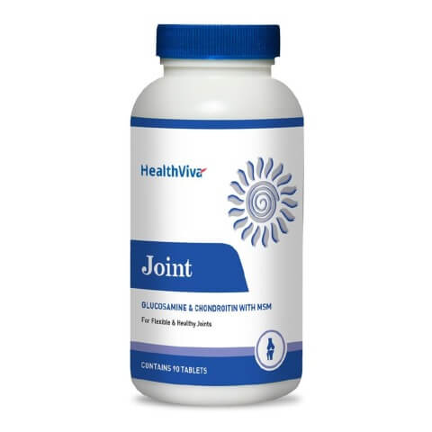 HealthViva Joint (Glucosamine & Chondroitin with MSM),  90 tablet(s)