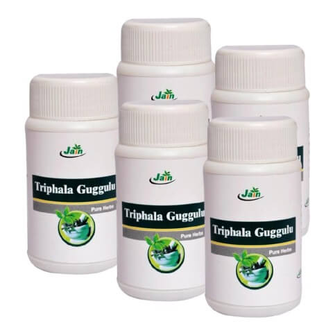Jain Triphala Guggulu (Pack of 5),  80 tablet(s)