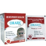 West Coast Orabic ORS With Probiotic & Zinc,  Strawberry  12 Sachets/pack