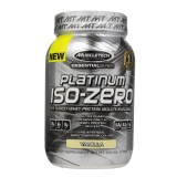 MuscleTech Platinum 100% Iso-Zero,  3 Lb  Vanilla