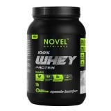 Novel Nutrients 100% Whey Protein Isolate,  1 Lb  Strawberry