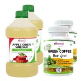 St.Botanica Apple Cider Vinegar + Green Coffee Bean Extract,  4 Piece(s)/Pack  Unflavoured