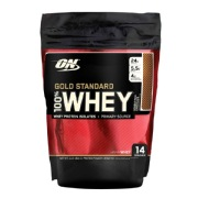 ON  Optimum Nutrition  Gold Standard 100% Whey Protein, 1 lb Double Rich Chocolate