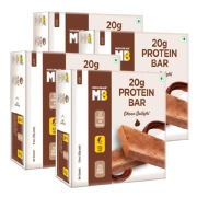 MuscleBlaze Protein Bar 22g Protein 6 Piece   Pack of 4