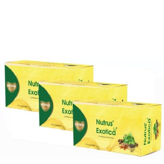 Nutrus Exotica (Pack of 2),  Unflavoured  20 sachets/pack