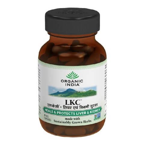 Organic India Liver Kidney Care Capsules,  60 capsules