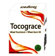 Grace Mixed Tocotrinol 300 mg + Wheat Germ Oil 200 mg (Tocograce) Gelatin, 15 capsules