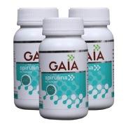 GAIA Spirulina  Pack of 3 , 60 capsules