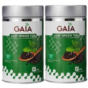 GAIA Green Tea Leaf  Pack of 2   100 g Unflavoured