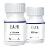 INLIFE Chitosan (Pack Of 2),  90 Capsules
