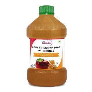 St.Botanica Apple Cider Vinegar with Honey,  0.500 L  Unflavoured