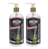 WOW Hair Strengthening Shampoo (Pack Of 2),  300 Ml  Strong Hair