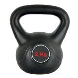 Universal Fitness Cement Kettlebell,  Black  24 Kg